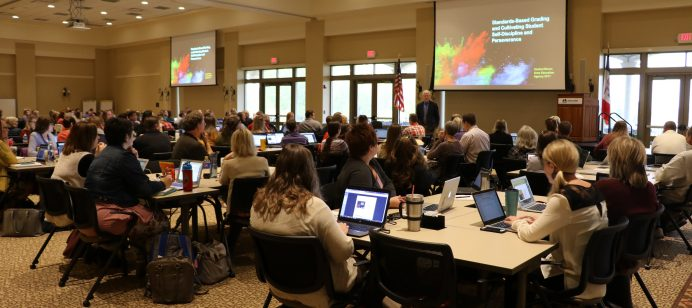 Nearly 275 educators attend the Standards-Based Grading Workshop