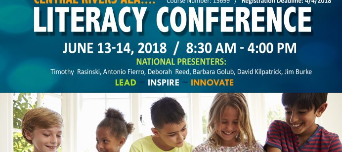 Register now for the Central Rivers AEA Literacy Conference