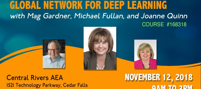 Seeking pilot schools for Deep Learning with Michael Fullan