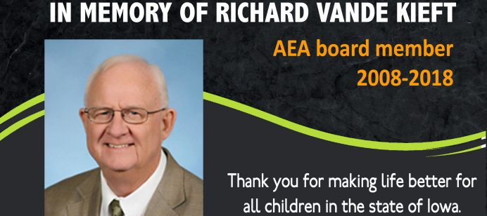 Vande Kieft leaves legacy of service to AEA system