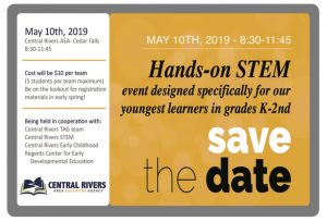 SAVE THE DATE STEM