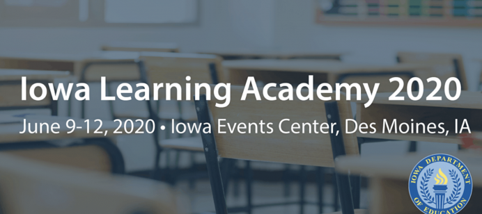 Iowa Learning Academy (ILA) 2020 dates announce