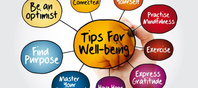 Focusing on your well-being will help decrease stress and navigate life during the pandemic and beyond